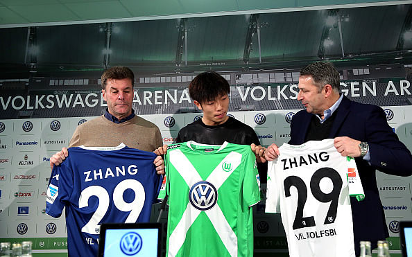 Zhang Xizhe VfL Wolfsburg