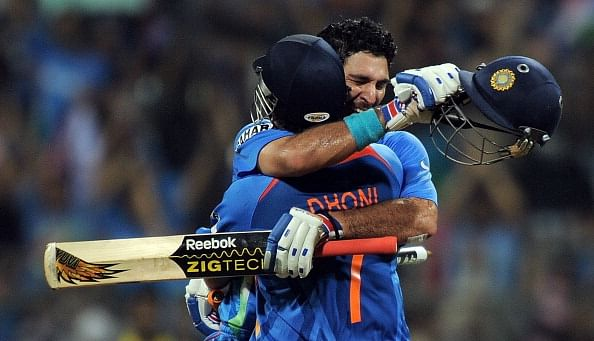 A look at the Yuvraj Singh-MS Dhoni relationship over the years