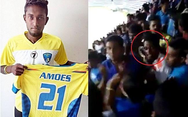 Amoes Do fight fans police Bengaluru Mumbai I league