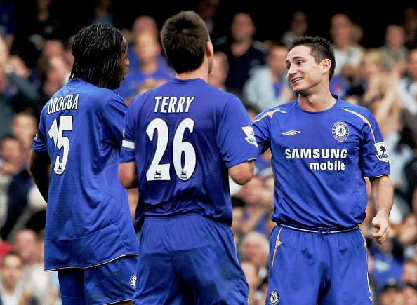 Drogba Terry Lampard
