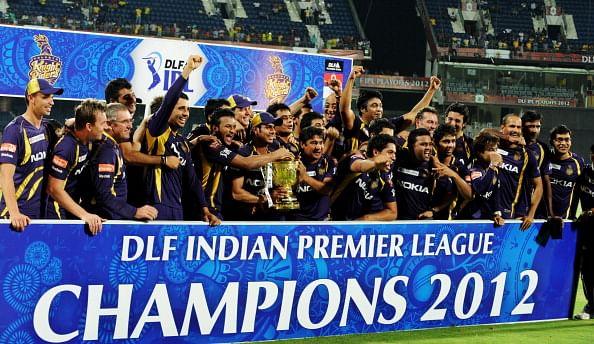 KKR won the IPL in 2012