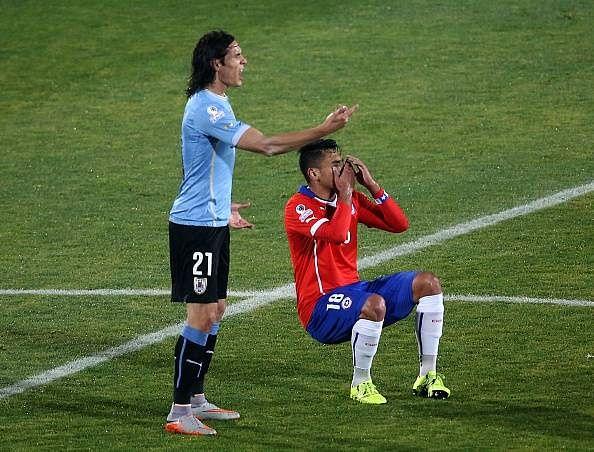 Jara banned Cavani Copa Aemrica