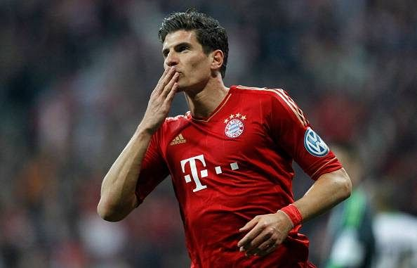 Mario Gomez averaged almost 30 goals a season over four seasons at Bayern Munich