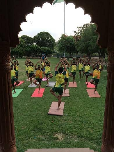 Patna Pirates yoga