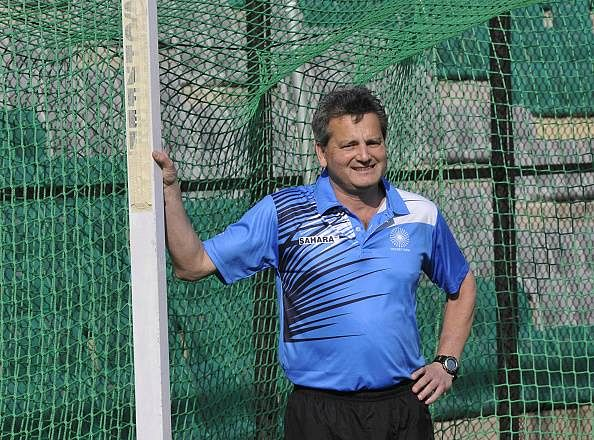 India hockey coach Paul van Ass