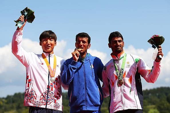Sawarn Singh rowing India