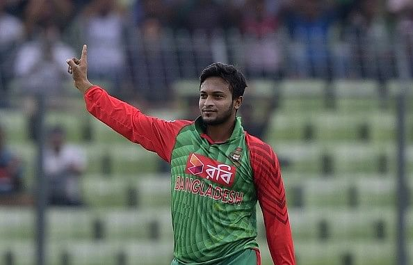 Shakib Al Hasan is currently the number 1 all-rounder in all formats of cricket