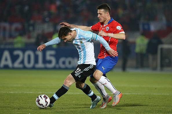 Angelo Henriquez Lionel Messi Manchester United Copa America