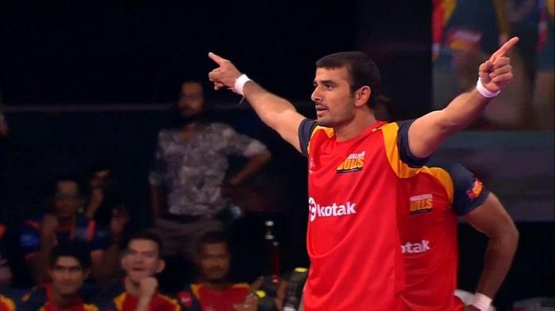 Ajay Thakur Bengaluru Bulls pro kabaddi
