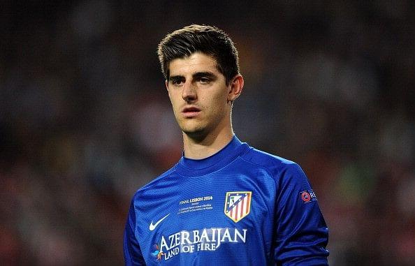 Atletico Madrid Courtois Chelsea