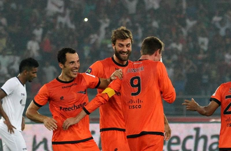 Bruno Arias North East United Delhi Dynamos