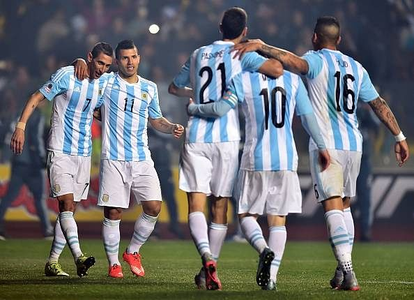 Di Maria Aguero Messi