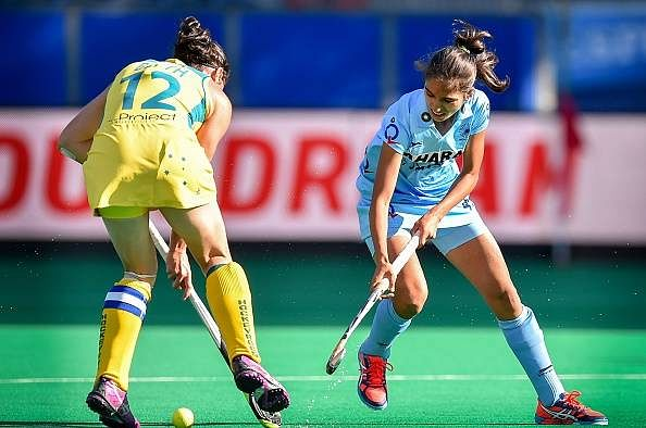 India Australia women hockey