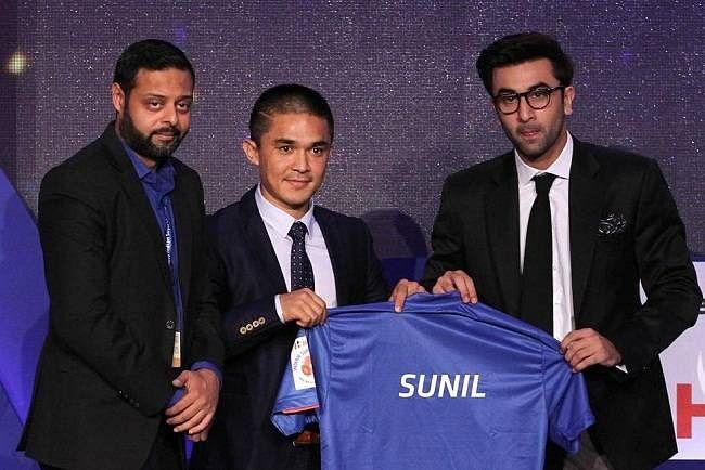 ISL Auction 2015 Sunil Chhetri Mumbai City