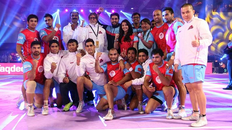Abhishek Bachchan is the owner of the PKL franchise Jaipur Pink Panthers