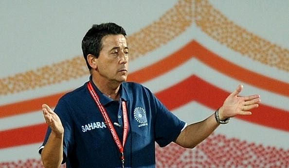 Jose Brasa India hockey
