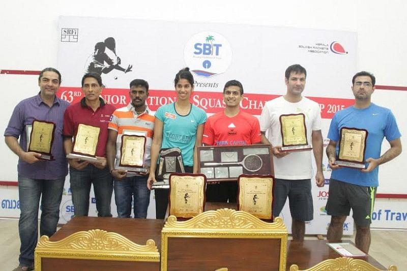 Squash national championship saurav ghosal Joshna Chinappa