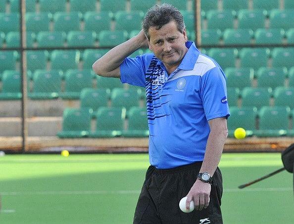 Paul van Ass India hockey coach