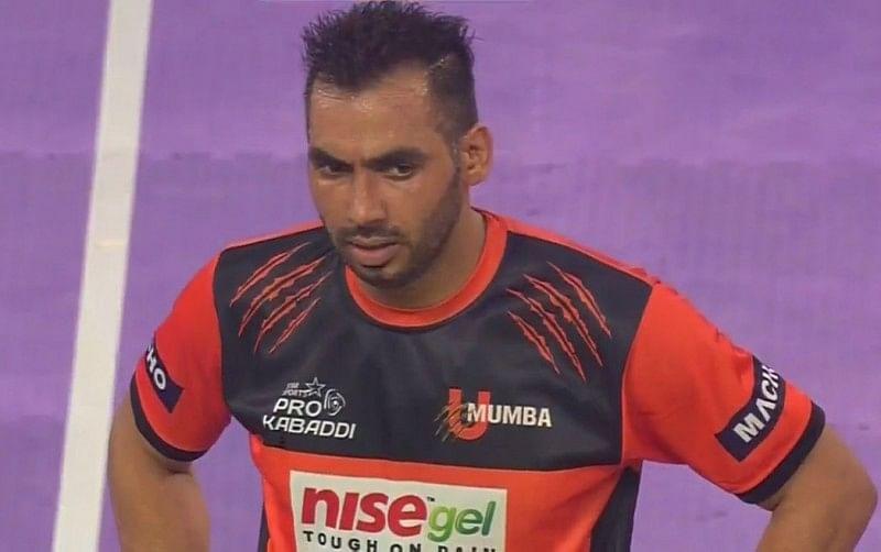 Anup Kumar U Mumba Bengal Warriors pro kabaddi
