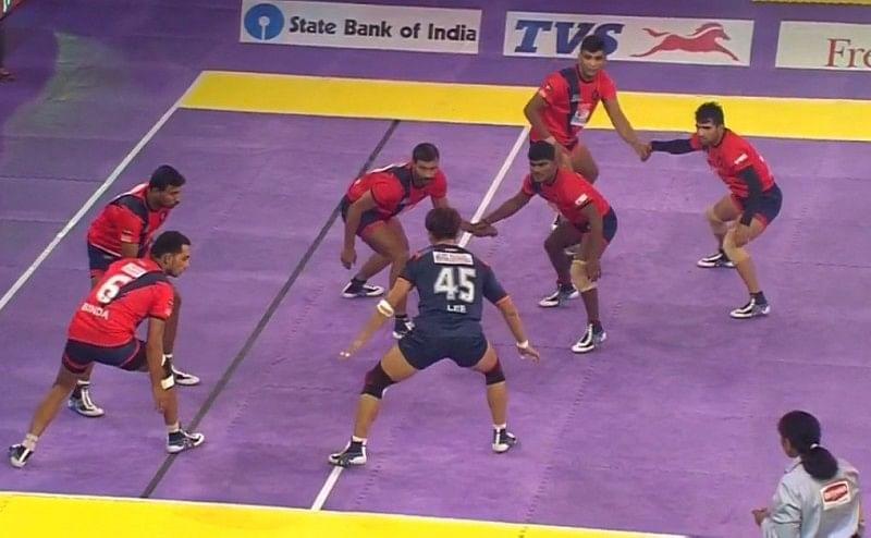 Dabang Delhi Bengal Warriors pro kabaddi