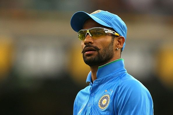 Shikhar Dhawan India cricket
