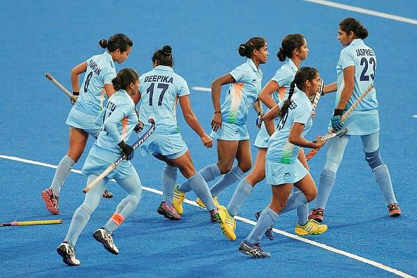 India hockey women team