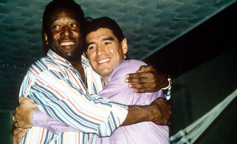 Pele vs Maradona: A statistical comparison of the world's two greatest  footballers