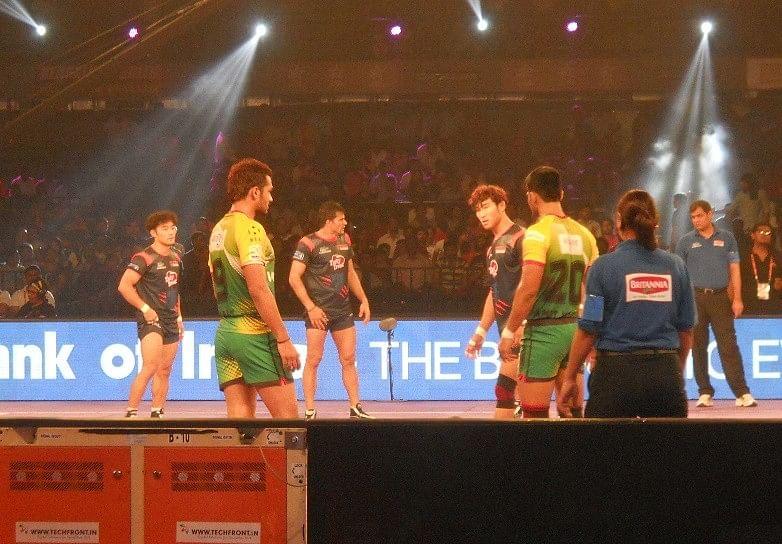 Jang Kun Lee Pirates Patna Bengal Warriors pro kabaddi