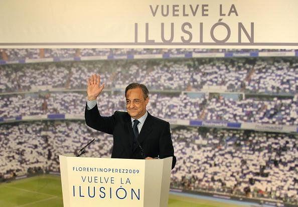 Florentino Perez Real Madrid presidential election