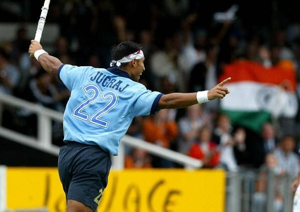 Jugraj Singh during his playing days