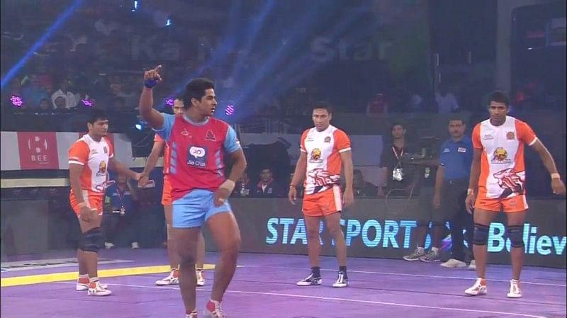 Rajesh Narwal Jaipur Pink Panthers Puneri Paltan pro kabaddi