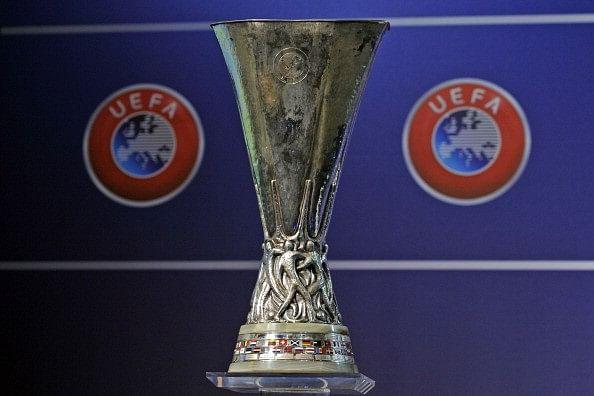 Image result for europa league trophy sportskeeda