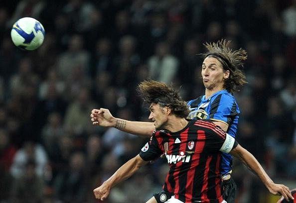 Zlatan Ibrahimovic and Paolo Maldini have won 26 trophies each