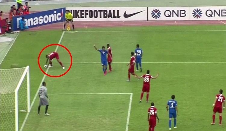 AFC Handball Penalty