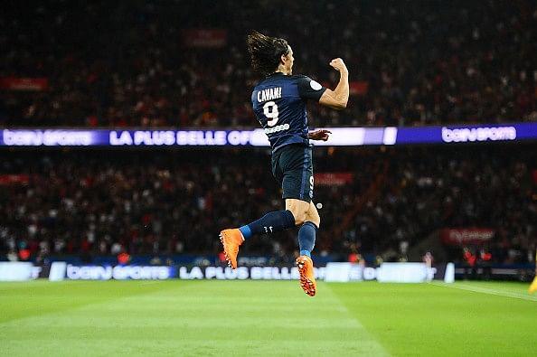 Edinson Cavani goal PSG Bordeaux