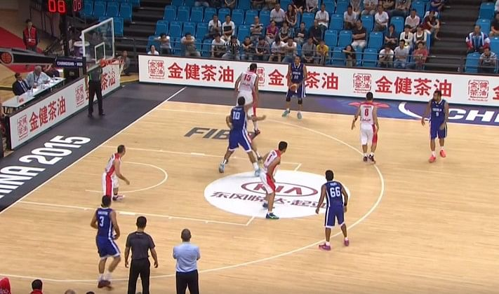 FIBA India Iran Asia 2015 Amjyot Singh