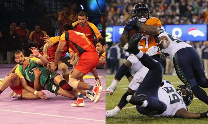Kabaddi American football similar