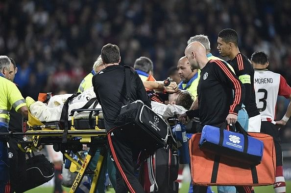Luke Shaw Manchester United Injury
