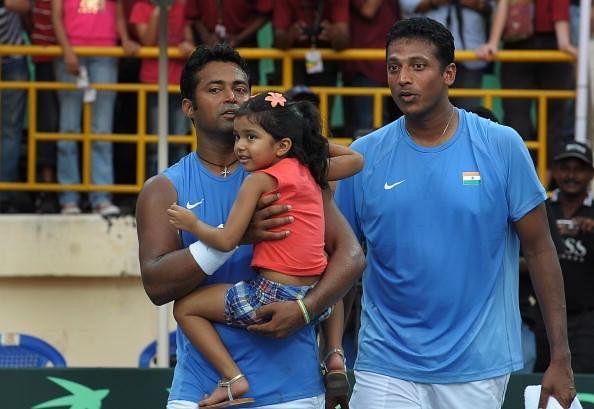 Leander Paes daughter Mahesh Bhupathi