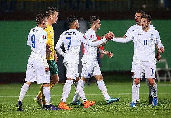 England 3-0 Lithuania goals highlights