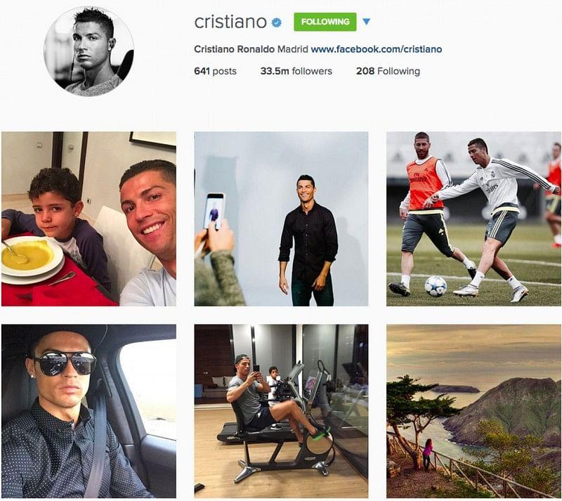 Cristiano Ronaldo Edges Past Neymar To Become Most Popular Footballer On Instagram