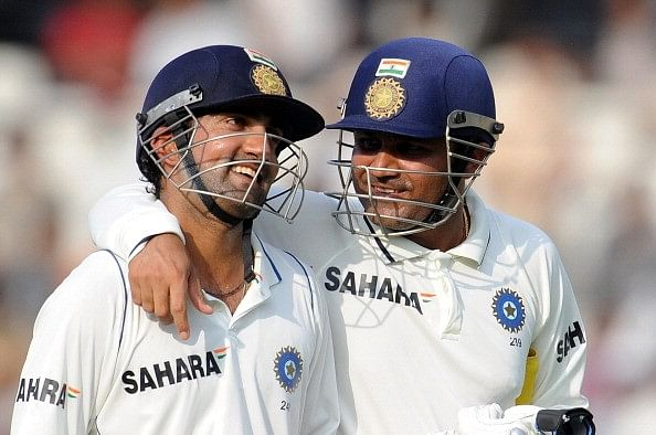 Virender Sehwag (left) and Gautam Gambhir (right) was the last Indian pair to last over 20 overs in a Test outside Asia.