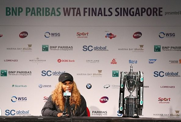 Serena  Williams WTA Finals 2014