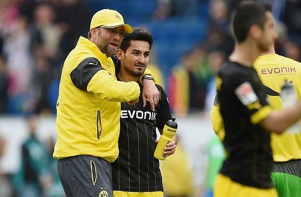 Klopp Dortmund Gundogan