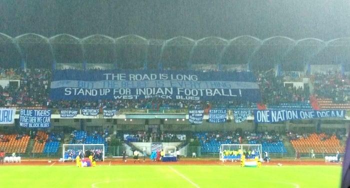 Bengaluru India Guam West Block Blues banner