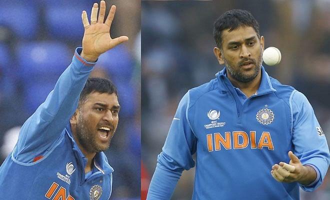 6 instances when MS Dhoni bowled