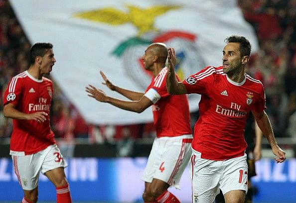 Jonas Benfica goal