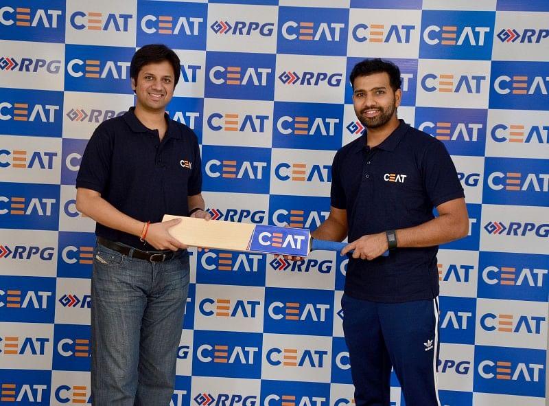 Rohit Sharma Anant Goenka India Cricket CEAT