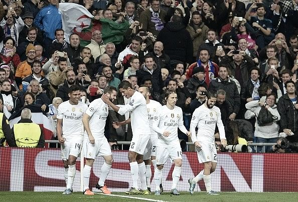 Nacho goal Real Madrid