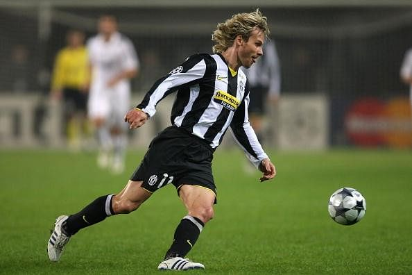 Pavel Nedved Juventus Champions League